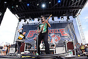 Motion City Soundtrack performs at The Bamboozle music festival, May 2, 2010. East Rutherford, NJ.