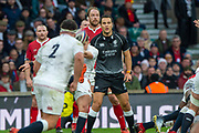 """Twickenham, England, 7th March 2020, Referee, Ben O""""KEEFFE [NZRU], during the Guinness Six Nations, International Rugby, England vs Wales, RFU Stadium, United Kingdom, [Mandatory Credit; Peter SPURRIER/Intersport Images]"""