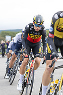Wout van Wout of Team Jumbo-Visma during Stage 8 of the AJ Bell Tour of Britain 2021 between Stonehaven to Aberdeen, , Scotland on 12 September 2021.