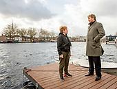 Koning Willem Alexander bezoekt burgerinitiatieven in Tilburg