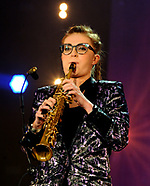 Jess Gillam at the BBC Proms in the Park