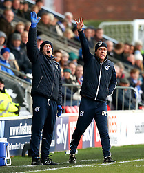Bristol Rovers manager Darrell Clarke appeals - Mandatory by-line: Matt McNulty/JMP - 14/01/2017 - FOOTBALL - Highbury Stadium - Fleetwood, England - Fleetwood Town v Bristol Rovers - Sky Bet League One