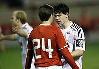 Fotball,1. februar 2012 , Copa del Sol<br /> Rosenborg - Spartak Moskva<br /> Daniel Fredheim Holm , RBK i hissig diskusjon<br /> <br /> <br /> , Spartak Moscow