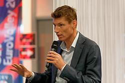 21-09-2019 NED: EC Volleyball 2019 Netherlands - Germany, Apeldoorn<br /> 1/8 final EC Volleyball / Bas van de Goor, VIP