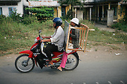 On the road between Ho Chi Minh and Can Tho. Vietnam. March 17th 2007.