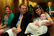 Jack McCloskey is baptized by his grandfather Deacon Michael McCloskey with family and friends at Holy Name Cathedral in Chicago. Saturday, August 25, 2012 l Brian J. Morowczynski~ViaPhotos.<br /> <br /> For personal use only. Further use and/or distribution may be negotiated separately. Contact ViaPhotos at 708-602-0449 or email brian@viaphotos.com.