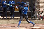 Middletown, New York - Washingtonville plays Middletown in a varsity girls' softball game on April 9, 2014.
