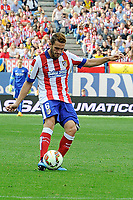 Atletico de Madrid´s Koke during 2014-15 La Liga match between Atletico de Madrid and Athletic Club at Vicente Calderon stadium in Madrid, Spain. May 02, 2015. (ALTERPHOTOS/Luis Fernandez)