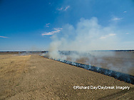 63863-02904 Prescribed Burn by IDNR Prairie Ridge State Natural Area Marion Co. IL