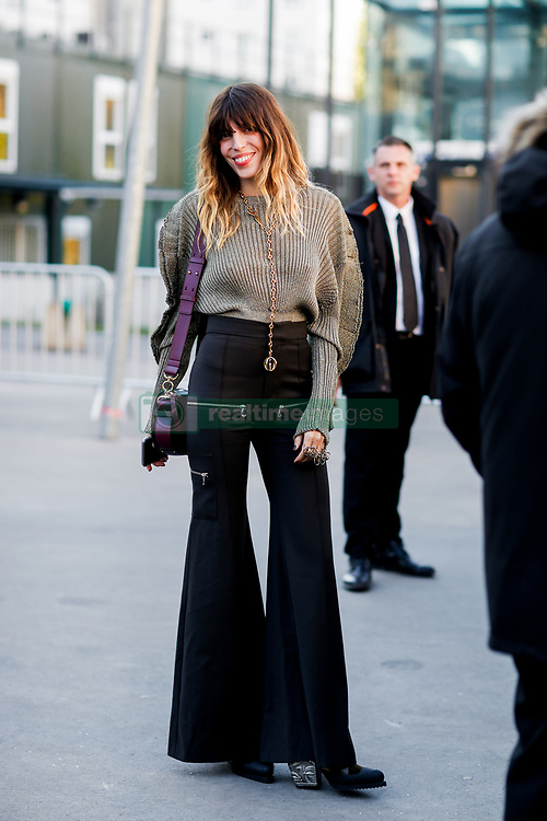 Street style, Lou Doillon arriving at Chloe spring summer 2019 ready-to-wear show, held at Maison de la Radio, in Paris, France, on September 27th, 2018. Photo by Marie-Paola Bertrand-Hillion/ABACAPRESS.COM
