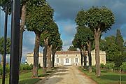 entrance chateau trottevieille saint emilion bordeaux france