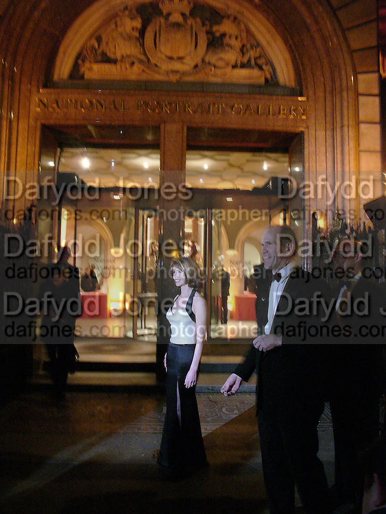 Jane Asher and Sandy Nairne. National Portrait Gallery  150th Anniversary Fundraising Gala. National Portrait Gallery. London. 28 February 2006. ONE TIME USE ONLY - DO NOT ARCHIVE  © Copyright Photograph by Dafydd Jones 66 Stockwell Park Rd. London SW9 0DA Tel 020 7733 0108 www.dafjones.com