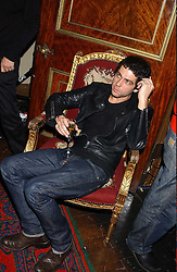 Artist TIM NOBLE at a party to celebrate the publication of Strangeland by artist Tracey Emin at 33 Portland Place, London W1 ON 21ST OCTOBER 2005.<br /><br />NON EXCLUSIVE - WORLD RIGHTS