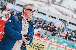 16.02.2020, Kulm, Bad Mitterndorf, AUT, FIS Ski Flug Weltcup, Kulm, Herren, im Bild FIS Renndirektor Walter Hofer // FIS Racedirector Walter Hofer during the men's FIS Ski Flying World Cup at the Kulm in Bad Mitterndorf, Austria on 2020/02/16. EXPA Pictures © 2020, PhotoCredit: EXPA/ JFK