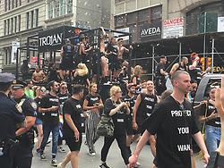 June 24, 2018 - New York City, New York, USA - 6/24/18.The 2018 Gay Pride Parade (NYC Pride March) in New York City. (Credit Image: © Starmax/Newscom via ZUMA Press)