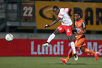 Arnaud LUSAMBA  - 06.03.2015 - Nancy / Laval - 27eme journee de Ligue 2 <br />Photo : Fred Marvaux / Icon Sport