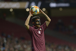 March 22, 2019 - Madrid, Madrid, Spain - Rosales of Venezuela during the Friendly football match between Argentina and Venezuela at Wanda Metropolitano Stadium in 22 March 2019, Madrid, Spain, preparatory for the Copa América Brazil 2019 to be played from June 14 to July 7. (Credit Image: © Patricio Realpe/NurPhoto via ZUMA Press)