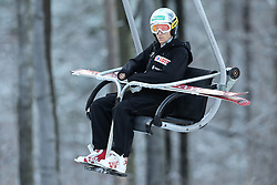 November 19, 2017 - Wisla, Poland - Stefan Hula (POL), competes in the individual competition during the FIS Ski Jumping World Cup on November 19, 2017 in Wisla, Poland. (Credit Image: © Foto Olimpik/NurPhoto via ZUMA Press)