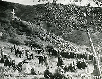 1921 First Easter sunrise service at The Hollywood Bowl