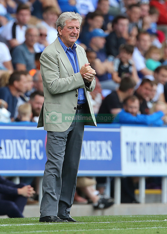 """Crystal Palace Manager Roy Hodgson during the pre-season friendly match at the Madejski Stadium, Reading. PRESS ASSOCIATION Photo. Picture date: Saturday July 28, 2018. See PA story SOCCER Reading. Photo credit should read: Mark Kerton/PA Wire. RESTRICTIONS: EDITORIAL USE ONLY No use with unauthorised audio, video, data, fixture lists, club/league logos or """"live"""" services. Online in-match use limited to 75 images, no video emulation. No use in betting, games or single club/league/player publications."""