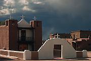 Saint Geronimo church, Taos Peublo, New Mexico, USA