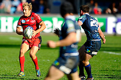 Toulon Fly-Half (#10) Jonny Wilkinson in action during the second half of the match - Photo mandatory by-line: Rogan Thomson/JMP - Tel: Mobile: 07966 386802 21/10/2012 - SPORT - RUGBY - Cardiff Arms Park - Cardiff. Cardiff Blues v Toulon (RC Toulonnais) - Heineken Cup Round 2