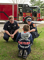 "Make A Wish - ""Fireman Paul"" at Laconia Fire Department.   ©2018 Karen Bobotas Photographer"