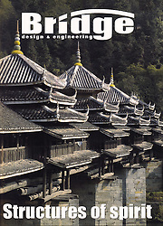 Front cover from Bridge design and engineering magazine