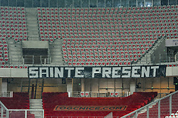 December 16, 2018 - Nice, France - Absence des supporters stephanois (Credit Image: © Panoramic via ZUMA Press)