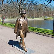 Jaan Poska Monument in Kadriorg park, Tallinn, Estonia
