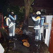 Afval in brand Taanderstraat Huizen