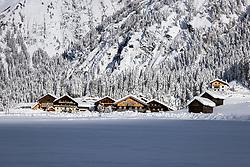 THEMENBILD - Verschneiter Ortsteil Brug, am Freitag 11. Dezember 2020 in Kals // Brug district covered with snow on Friday, December 11 2020 in Kals. EXPA Pictures © 2020, PhotoCredit: EXPA/ Johann Groder