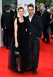 Agyness Deyn and guest arriving for the Virgin TV British Academy Television Awards 2017 held at Festival Hall at Southbank Centre, London. PRESS ASSOCIATION Photo. Picture date: Sunday May 14, 2017. See PA story SHOWBIZ Bafta. Photo credit should read: Matt Crossick/PA Wire
