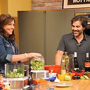 "Rachael Ray and husband John Cusimano on ""The Rachael Ray Show"""