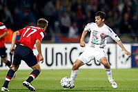 FOOTBALL - UEFA CHAMPIONS LEAGUE 2011/2012 - GROUP STAGE - GROUP B - LILLE OSC v CSKA MOSCOW - 14/09/2011 - PHOTO CHRISTOPHE ELISE / DPPI - ALAN DZAGOEV (CSKA MOSCOW)