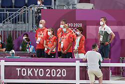 Kiss and Cry, Team Germany<br /> Olympic Games Tokyo 2021<br /> © Hippo Foto - Dirk Caremans<br /> 24/07/2021