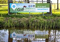 ZAANDAM - Open Golfdagen Zaanse Golf Club. Banner / spandoek  COPYRIGHT KOEN SUYK