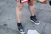 female person legs
