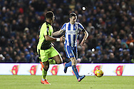 Brighton & Hove Albion winger Jamie Murphy (15) during the EFL Sky Bet Championship match between Brighton and Hove Albion and Reading at the American Express Community Stadium, Brighton and Hove, England on 25 February 2017.