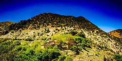 A Berber village in the high Atlas mountains, Morocco, North Africa<br /> <br /> (c) Andrew Wilson | Edinburgh Elite media
