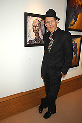 PAUL SIMONON at a private view of his recent paintings held at Thomas Williams Fine Art, 22 Old Bond Street, London on 15th April 2008.<br /><br />NON EXCLUSIVE - WORLD RIGHTS