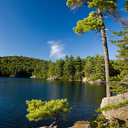 Sand Pond in summer.  Lempster, New Hampshire.
