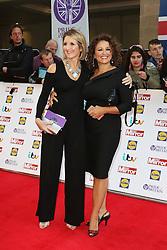 Kaye Adams, Nadia Sawalha, Pride of Britain Awards, Grosvenor House Hotel, London UK. 28 September, Photo by Richard Goldschmidt /LNP © London News Pictures