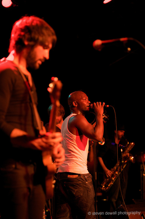 The Heavy perform at the Showbox atthe Market in Seattle