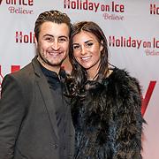NLD/Utrecht//20170323 - Première 'Believe' van Holiday On Ice, Danny Froger en partner Ann Dominique Wilten