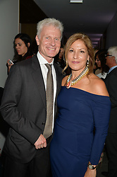 LORD & LADY DEIGHTON at She Inspires Art in aid of Women for Women International's work, held at Bonham's, 101 New Bond Street, London on 16th September 2015.
