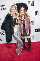 Nov. 13, 2018 - Nashville, Tennessee; USA - Musicians ALYSSA BONAGURA and RUBY STEWART of The Sisterhood Band attends the 66th Annual BMI Country Awards at BMI Building located in Nashville.   Copyright 2018 Jason Moore. (Credit Image: © Jason Moore/ZUMA Wire)