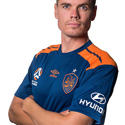 BRISBANE, AUSTRALIA - SEPTEMBER 16: Thomas Kristensen poses for a photo During a Hyundai A-League Brisbane Roar headshot photo session on September 16, 2017 in Brisbane, Australia. (Photo by Brisbane Roar / Patrick Kearney)
