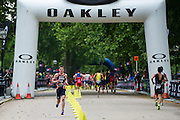Jonathan Brownlee (GBR). Vitality World Triathlon London, Hyde Park, London, UK on 31 May 2015. Photo: Simon Parker