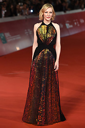 Cate Blanchett during the red carpet for The House With A Clock in its Walls premiere at the Rome Film Fest on October 19, 2018